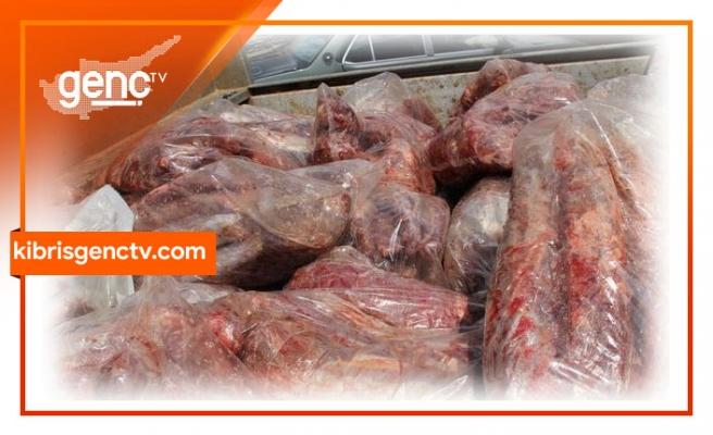 5 ton kaçak et ele geçirildi