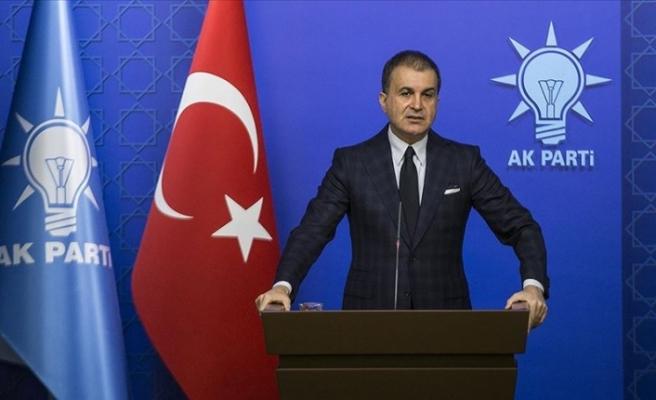 """AK Parti Sözcüsü Çelik: """"Demokrasinin sahibi millettir"""""""