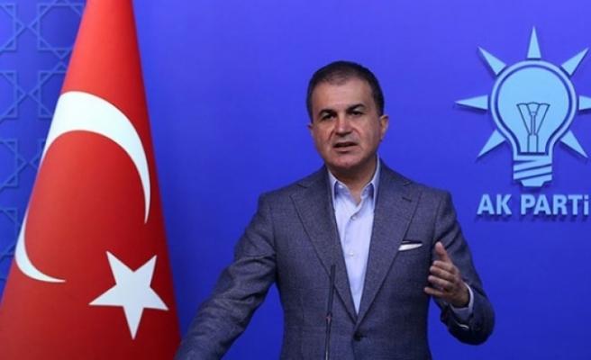 """AK Parti Sözcüsü Çelik: """"YSK'ya telkin, talimat, tehdit içeren açıklamalar suçtur"""""""