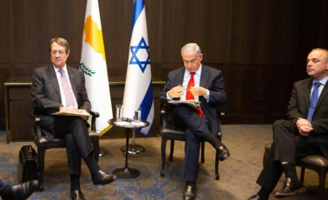 Anastasides'ten Netanyahu'ya telefon