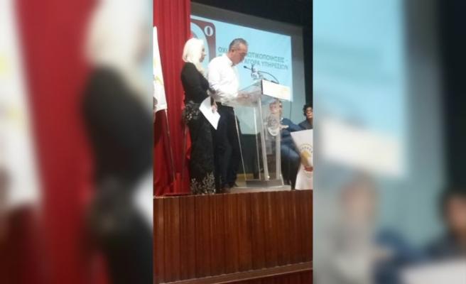 BES, Güney Kıbrıs'ta örgütlü PEO-SİDİKEK'in 9'uncu Kongresi'ne katıldı