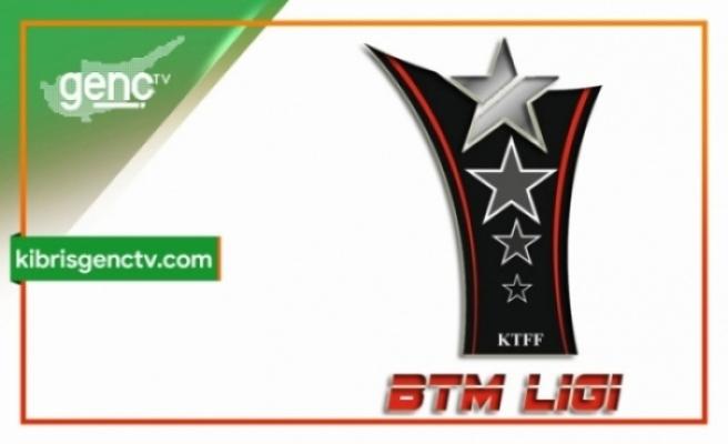 BTM 2.Lig'inde  günün sonuçları
