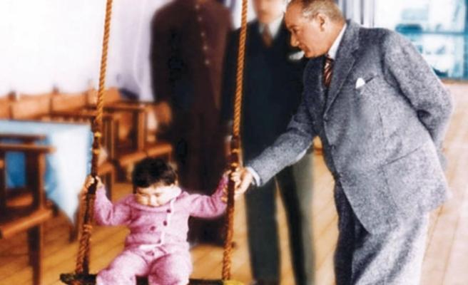 Bugün 23 Nisan; Ulusal Egemenlik ve Çocuk Bayramı'nın 99'ncu yılı
