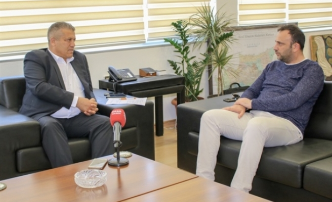 Çeler'den Gazimağusa Belediyesi'ne ziyaret