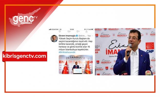 CHP'li aday Twitter hesabını güncelledi: 'İBB Başkanı Ekrem İmamoğlu'