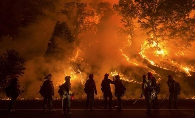 Çin'de 30 itfaiyecinin ölümüne neden olan yangın kontrol altına alındı