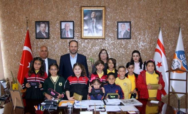 Çocuklar, İskele Belediyesi'nde