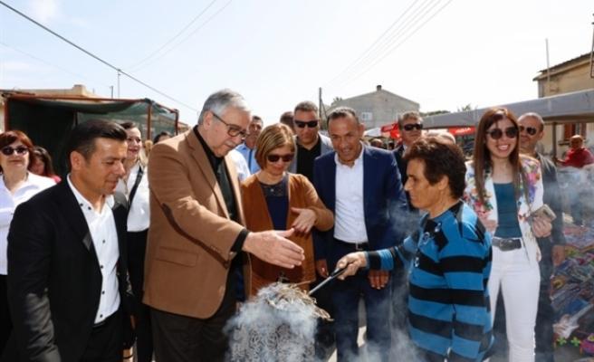 Cumhurbaşkanı Akıncı, 7. Akdeniz Ayrelli Festivali'ne katıldı