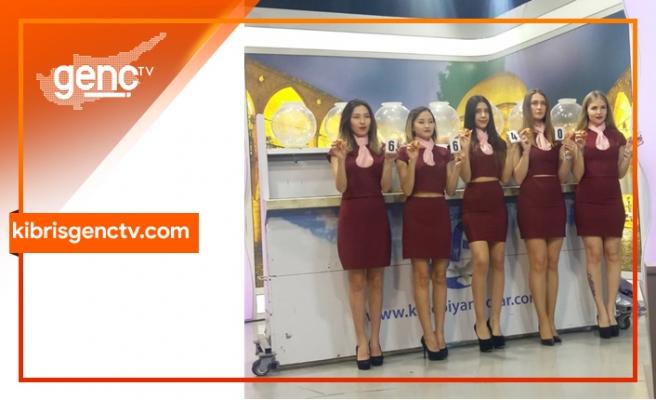Devlet Piyangosu Kıbrıs Genç Tv stüdyolarında çekildi