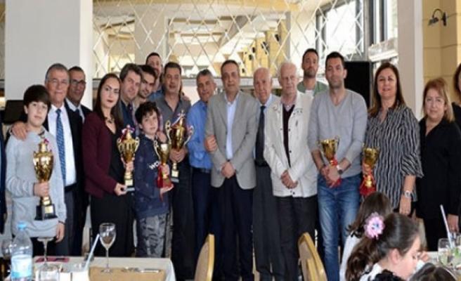 Eğitim Temalı 2019 Girne Satranç Turnuvası ödül töreni