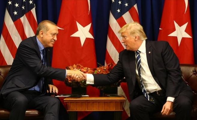 Erdoğan ile ABD Başkanı Trump telefonda görüştü