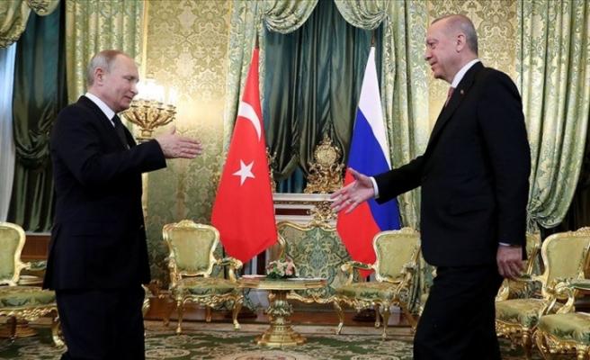 """Erdoğan: """"Rusya ile Suriye'de atacağımız adımlar büyük önem arz ediyor"""""""