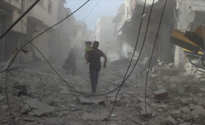 Esed rejimi Mart ayında İdlib'i 6 bin 422 kez vurdu