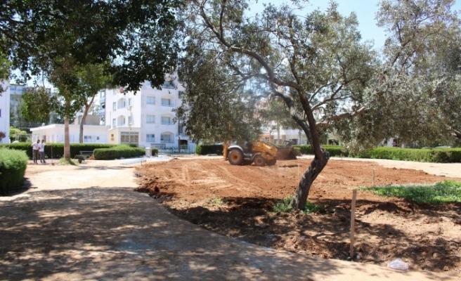 Gazimağusa, Dumlupınar'a yeni park yapılıyor