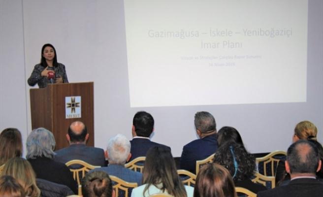 Gazimağusa-İskele-Yeniboğaziçi İmar Planı'nın Vizyon ve Stratejiler Çalıştayı raporu