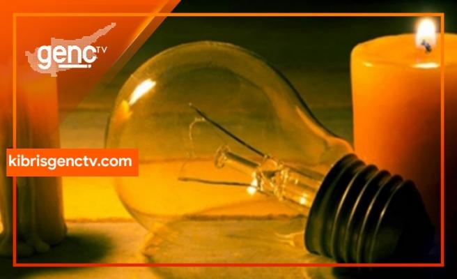 Gazimağusa'da bugün bazı bölgelerde 6 saat elektrik kesintisi var