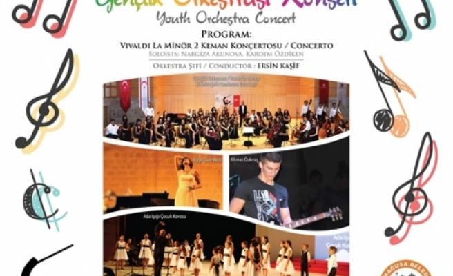 """""""Genç Yetenekler Production Gençlik Senfoni Orkestrası"""" Gazimağusa'da Konser Veriyor"""