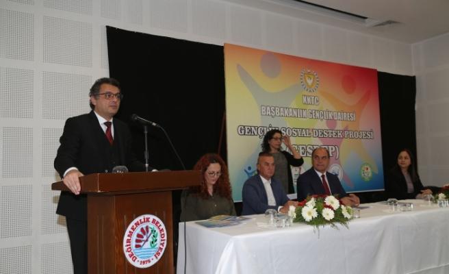 """""""Gençlik Sosyal Destek Projesi"""" tanıtıldı"""