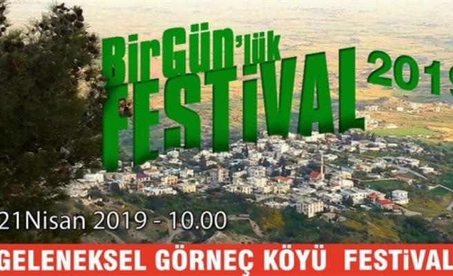 Görneç Köyü El Makarnası Festivali 21 Nisan'da yapılıyor
