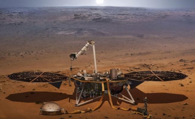 InSight, kızıl gezegende ilk kez yer sarsıntısı kaydetti