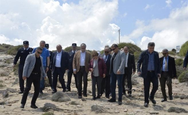 Kaplumbağa üreme alanı Ronnas sahili'nde çevre temizliği gerçekleştirildi