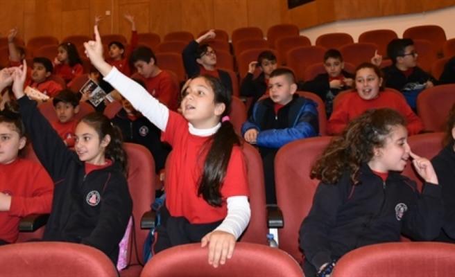 """""""Lefkoşa Belediye Orkestrası ile Orkestrayı Tanıyorum"""" eğitim konserleri tamamlandı"""