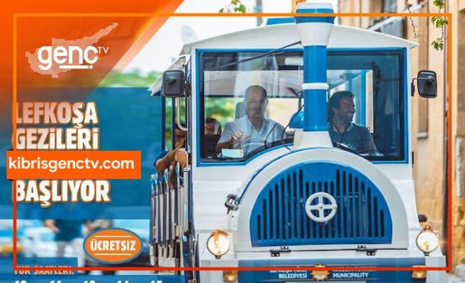 Lefkoşa gezi treni turları 15 Nisan'da ücretsiz olarak başlıyor