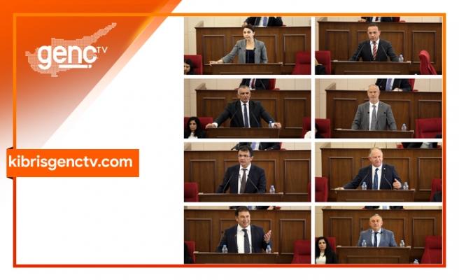 Mecliste çeşitli konular ele alındı