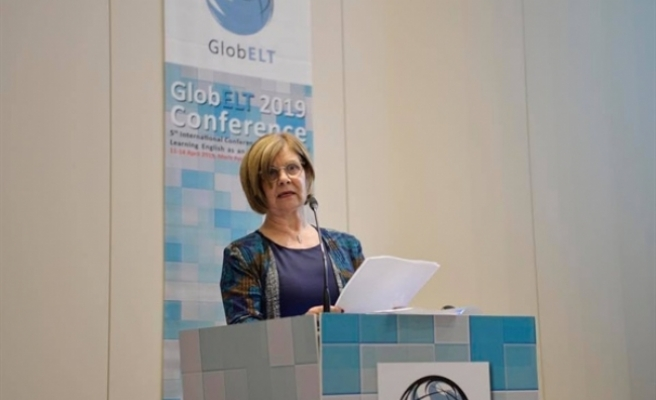 Meral Akıncı, GlobELT 2019 Conference'in açılış konuşmasını gerçekleştirdi