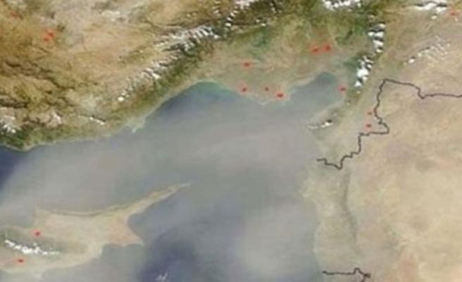Ortadoğu'dan taşınan toz zerrecikleri ülkede etkili oluyor