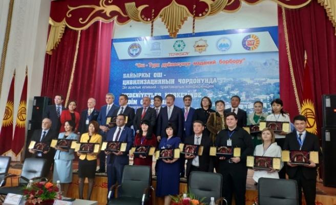 """""""Oş - 2019 Türk Dünyası Kültür Başkenti"""" etkinlikleri başladı"""