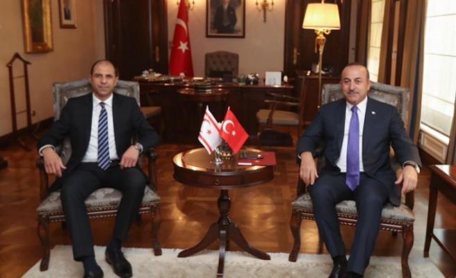 Özarsay, Çavuşoğlu ile görüştü