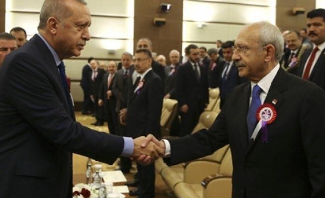 Saldırının ardından Erdoğan ve Kılıçdaroğlu ilk kez bir araya geldi