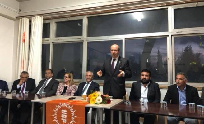 """Tatar: """"KKTC'yi geleceğe UBP taşıyacak"""""""