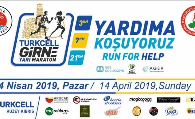 'Turkcell Girne Yarı Maratonu' yarın yapılıyor