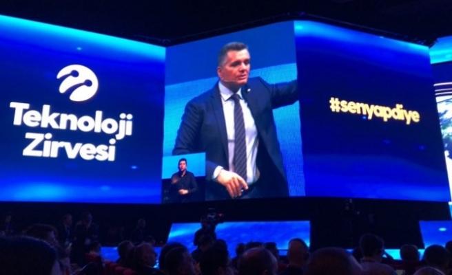 Turkcell'in düzenlediği Teknoloji Zirvesi, #senyapdiye sloganıyla gerçekleşiyor