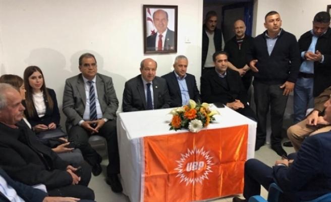 UBP Lefkoşa –Kızılay Bölgesi yeni örgüt binası dün gece hizmete açıldı