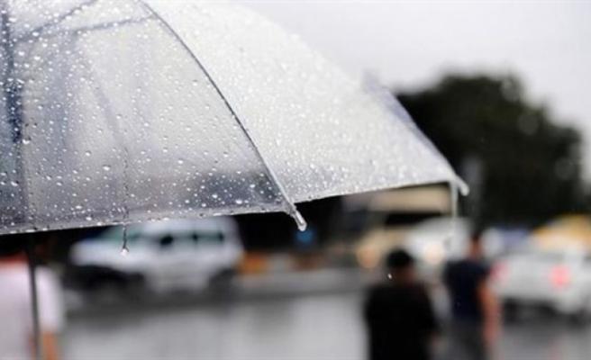 Yağmurlu havanın Pazar gününe kadar sürmesi bekleniyor