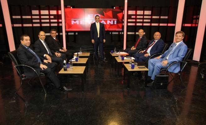 Yılın canlı yayını Kıbrıs Genç TV'de başladı