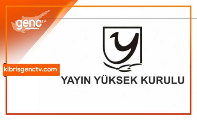 YYK'dan 2 televizyon kanalına ceza