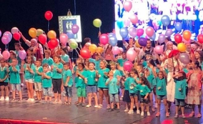 110 çocuk, 2 Haziran'da, yıl boyunca öğrendikleri oyunları sahneleyecek