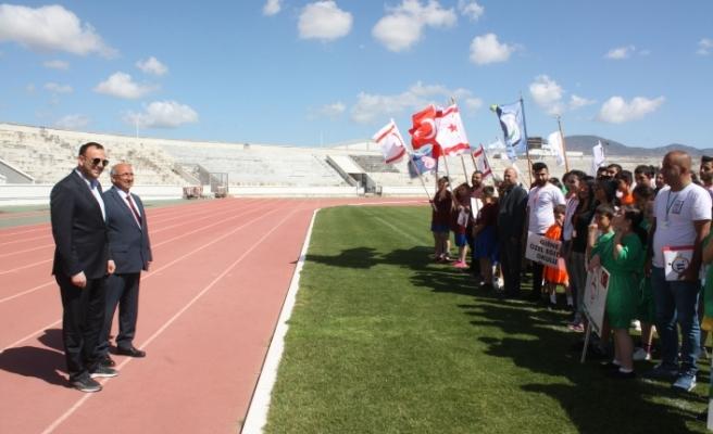1. Özel Atletizm Oyunları'nın açılış töreni Atatürk Stadyumunda yapıldı
