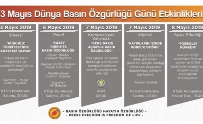 3 Mayıs Dünya Basın Özgürlüğü Günü etkinlikleri