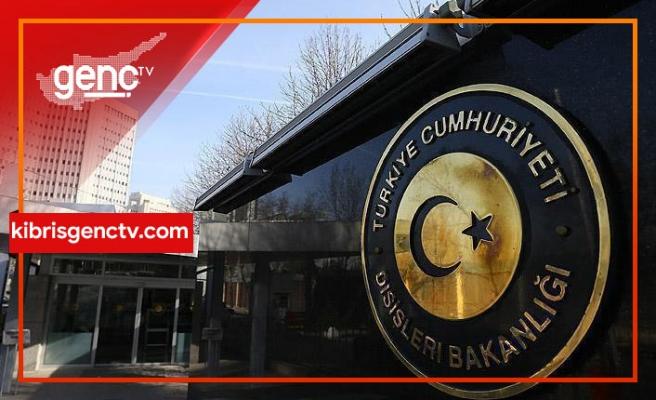 """ABD'nin """"Fatih"""" açıklamasına Türkiye Dışişleri'nden tepki"""