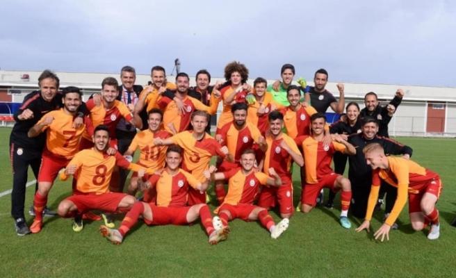 Ahmet Sivri de gol attı... Galatasaray Şampiyon oldu