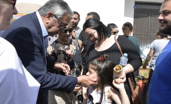 Akıncı, Akıncılar ve Büyükkonuk köylerindeki festivalleri zİyaret etti