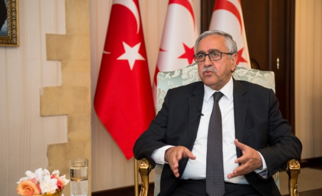 """Akıncı: """"Arzumuz, isteğimiz ve önerimiz; Doğu Akdeniz'i işbirliği ve uzlaşma havzasına dönüştürmektir"""""""