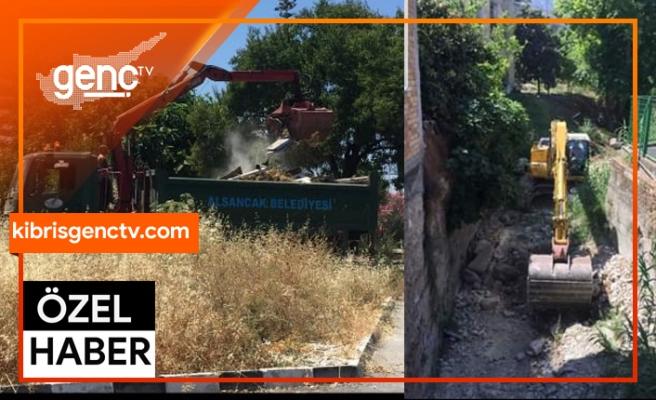 Alsancak'ta geniş kapsamlı temizlik kampanyası düzenleniyor