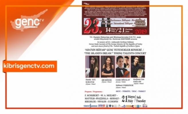 Bellapais Müzik Festivali bu akşam genç yetenekleri ağırlayacak