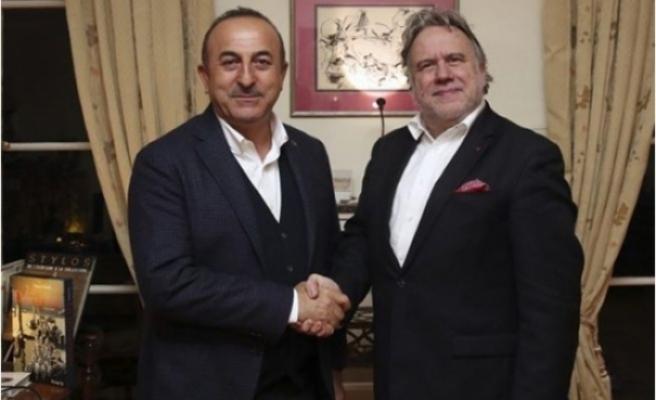 Çavuşoğlu-Katrugalos görüşmesi Rum basınında